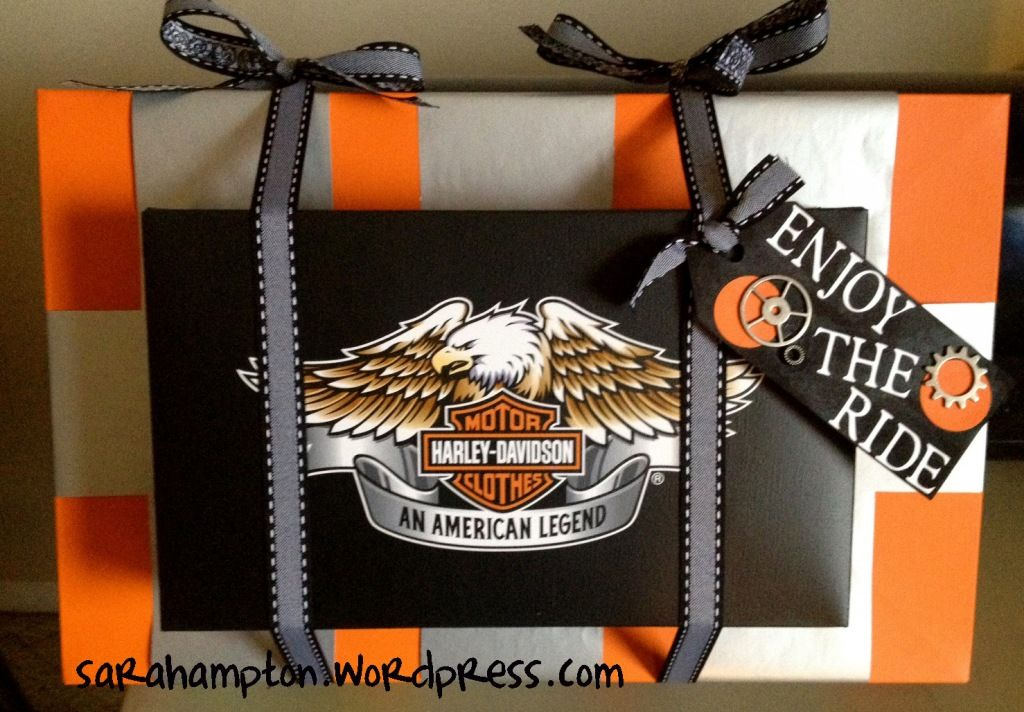 Motorcycle Lover S Gift Tag Harley Davidson Gifts Gift