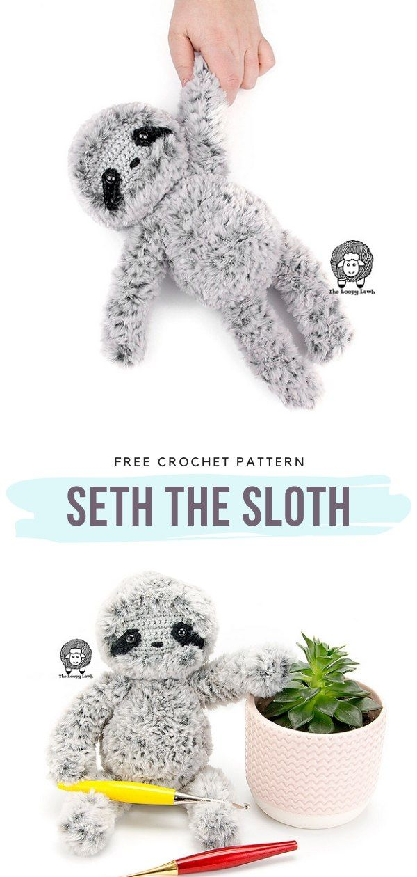How to Crochet Seth the Sloth