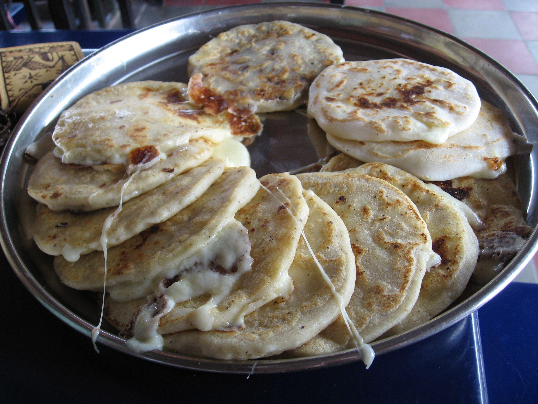Traditional Salvadoréan food--- Pupusas. (mouth watering ...Salvadoran Pupusas Recipe
