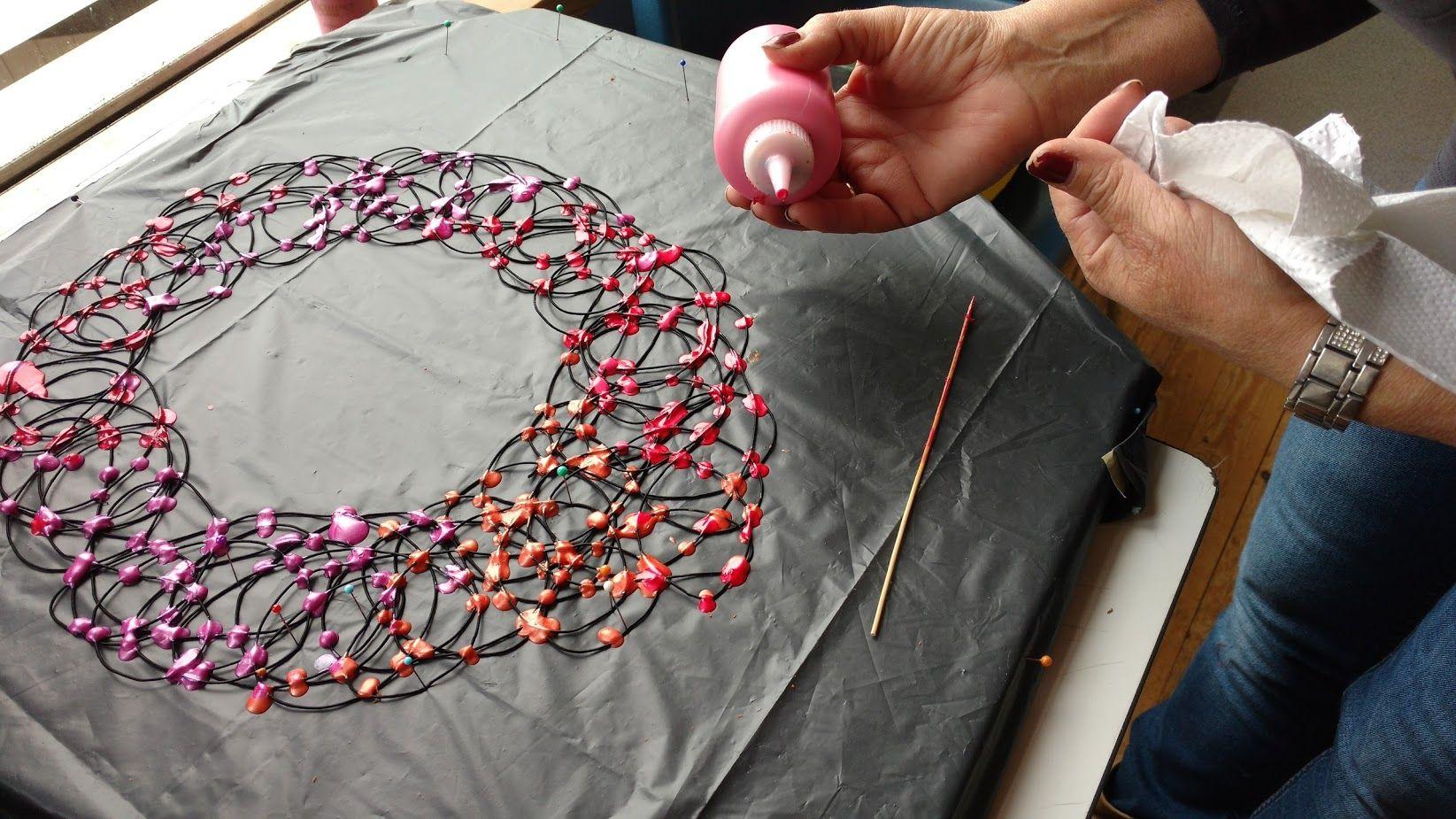 Bekend fantastische sieraden van vloeibaar rubber   jewelry - Plastic &GV14