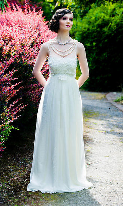 Lovely lace wedding gown by Maureen Patricia Boutique - in Toronto ...