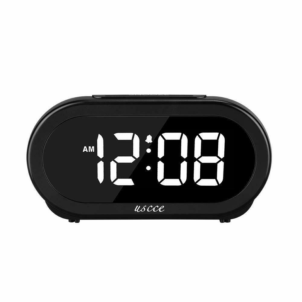 Electronic Small Alarm Easy Set Digital Alarm Clock LED Digital Display,Snooze