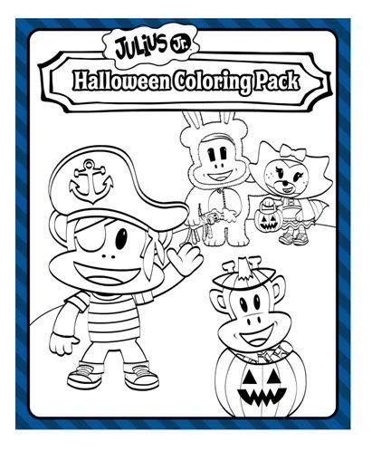 Julius Jr Halloween Coloring Nick Jr Halloween Coloring Halloween Coloring Books