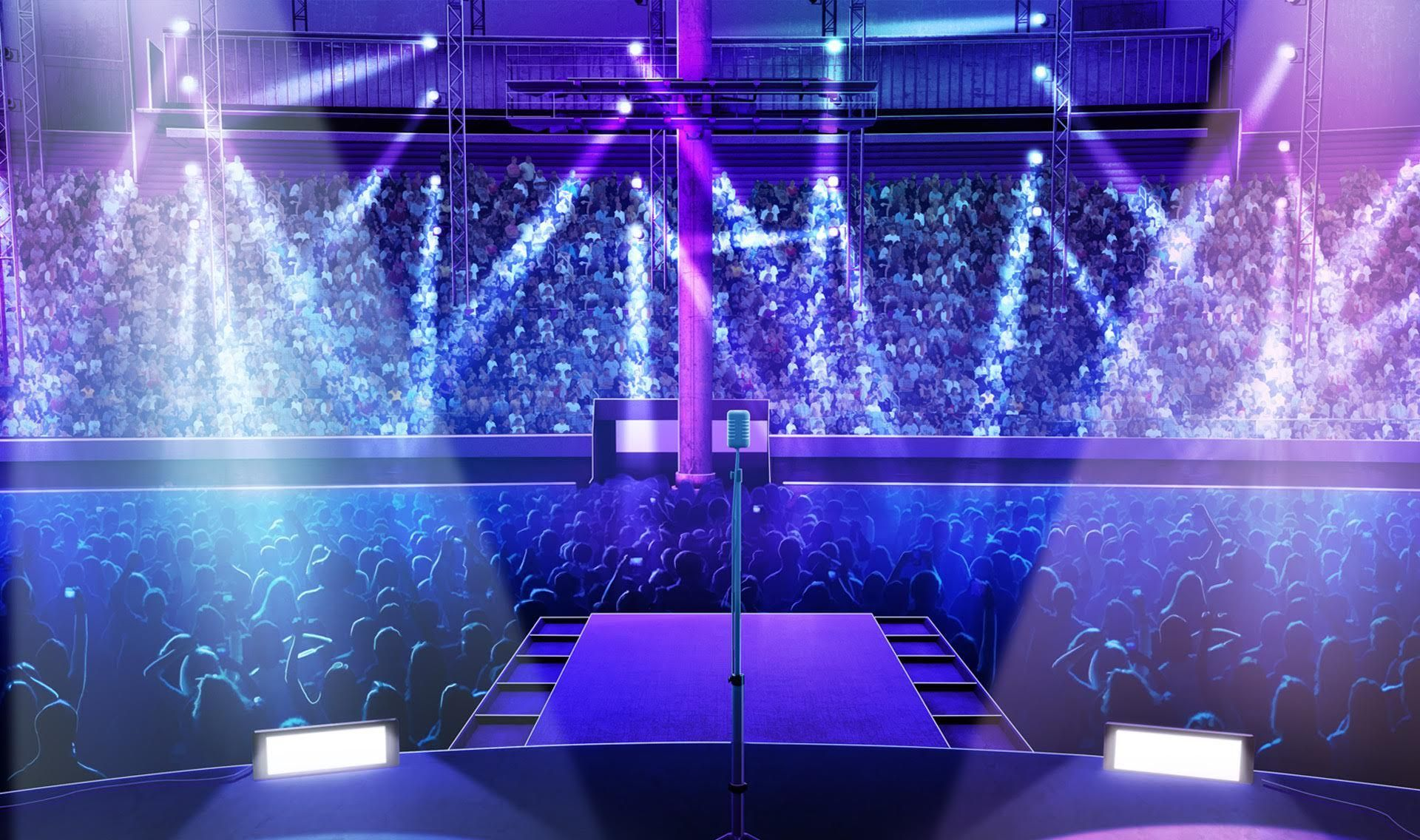 Int on rock concert stage night episode pinterest concert stage anime scenery and anime - Discoteca ozona madrid ...