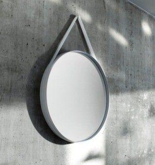 De Strap Mirror Van Hay Is Een Design Spiegel Die Niet Alleen Mooi