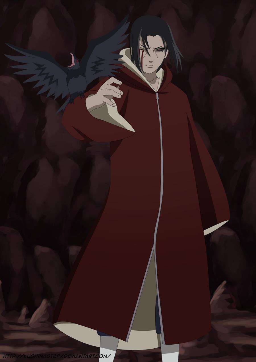 Naruto Quotes About Pain Wallpaper Itachi Crow Edo Tensei By Kushinastefy Deviantart Com On