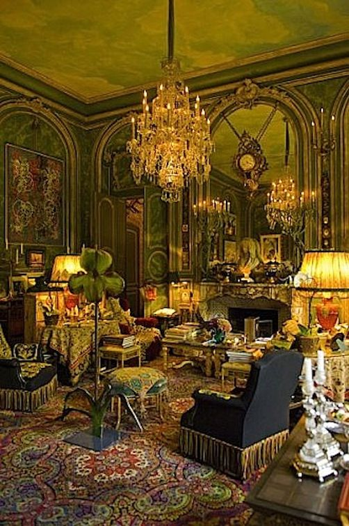 The Ornano Family's flat in Paris | Victorian interiors ...