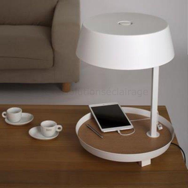 D2 - lampe de bureau E27 avec chargeur smartphone | Deco ...