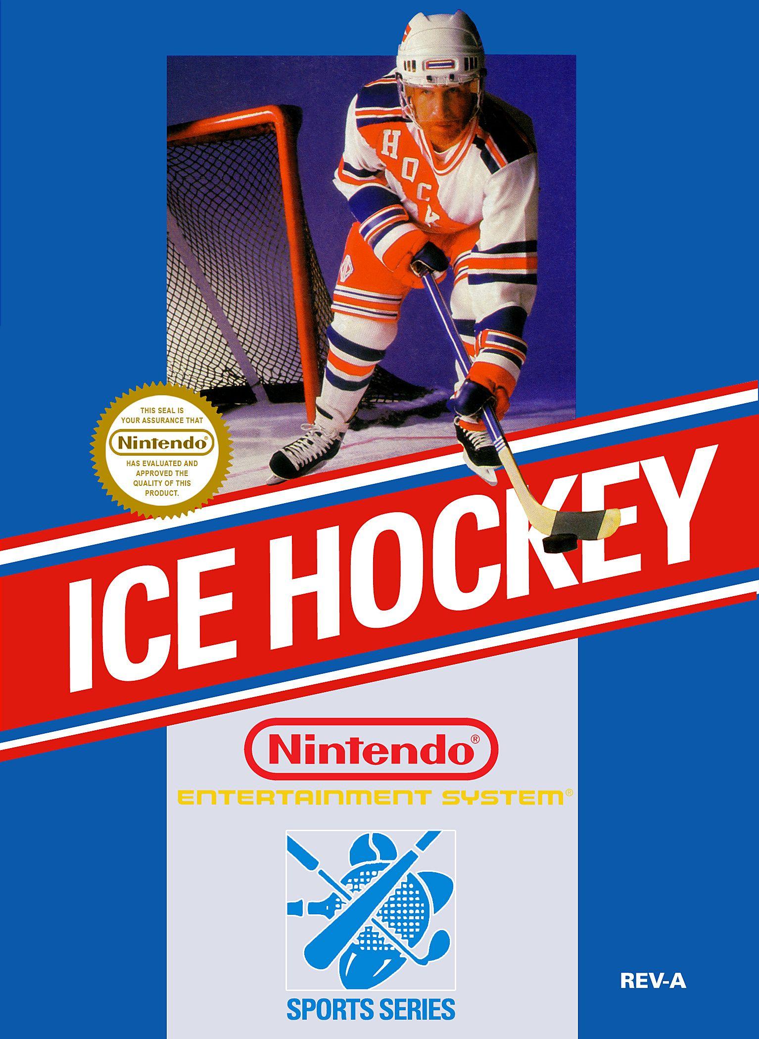 ice hockey nes box art Google Search Nintendo nes