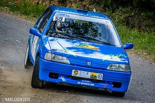 Peugeot 106 XSI - Nicolas CONTE / Virginie VICOT | 3ème Rall… | Flickr