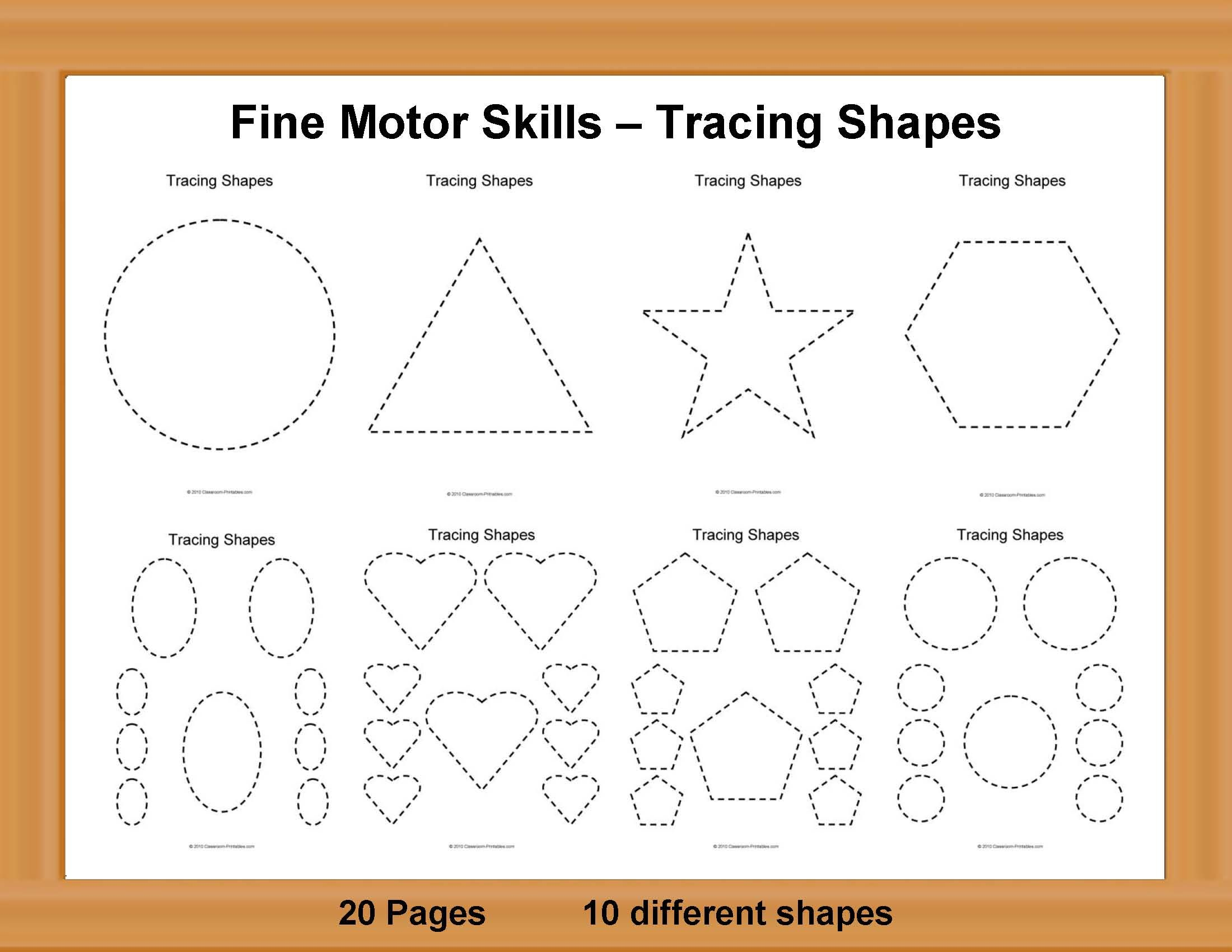 kara rice printable art worksheets fine motor skills shape tracing art classroom. Black Bedroom Furniture Sets. Home Design Ideas