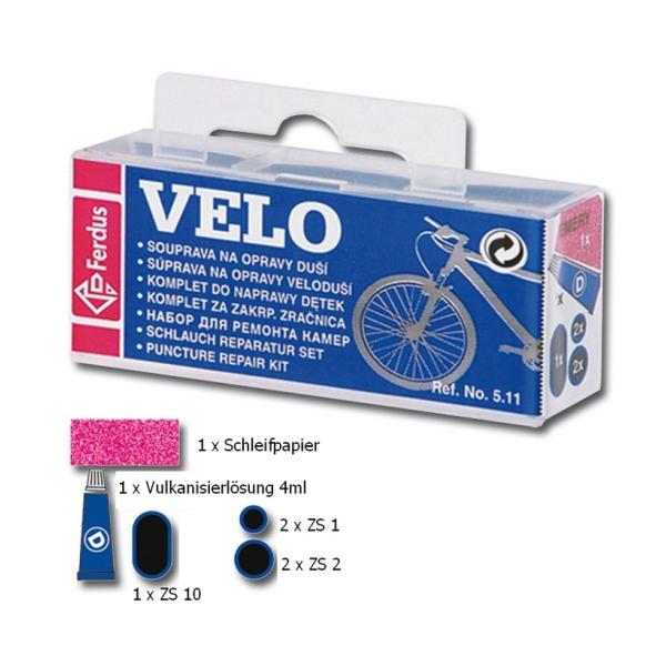 Fahrrad Schlauch Reparaturset Reifenreparatur Pannenset Flickzeug Set