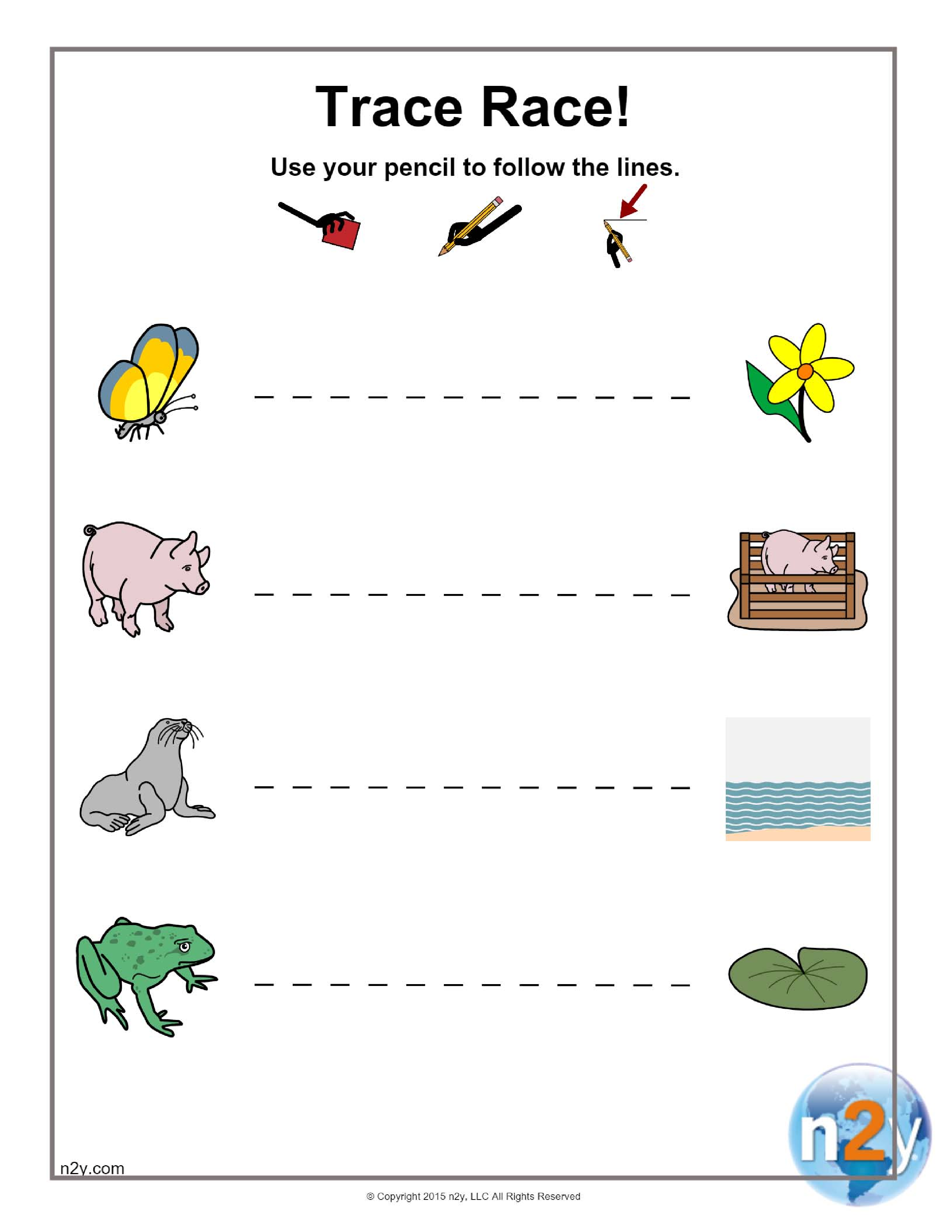 Help These Animals Find Their Way Back Home While Improving Fine Motor Skills Tracing Worksheets Preschool Preschool Tracing Handwriting Activities [ 3300 x 2550 Pixel ]