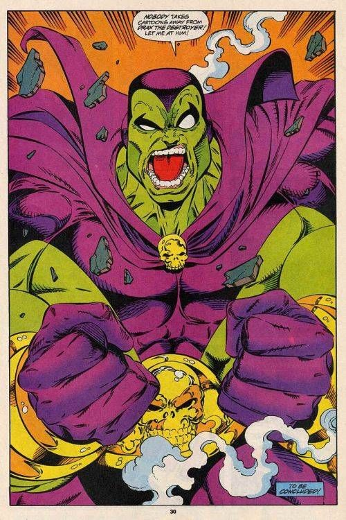 DRAX THE DESTROYER #comics #art