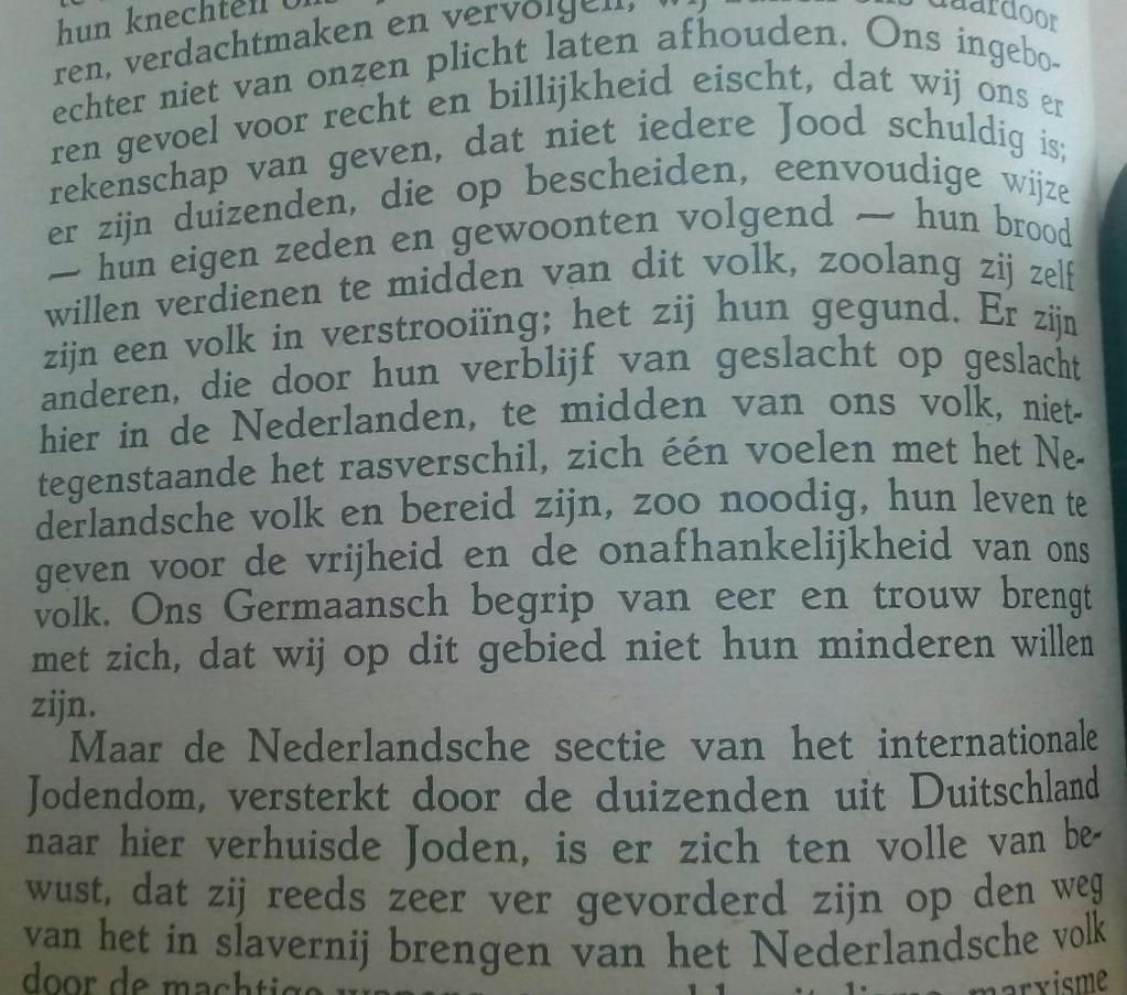 De NSB maakte in 1937 nog een uitzondering voor geïntegreerde Joden (foto). Later niet meer.