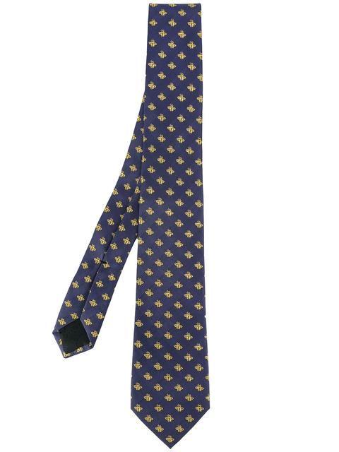 890dcb3151a3 GUCCI bee embroidered tie. #gucci #tie   Gucci Men in 2019   Tie ...