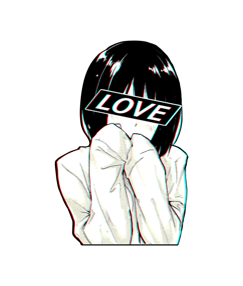 Stickers Depressed Guy Sadness Aesthetic Anime Www Picturesboss Com