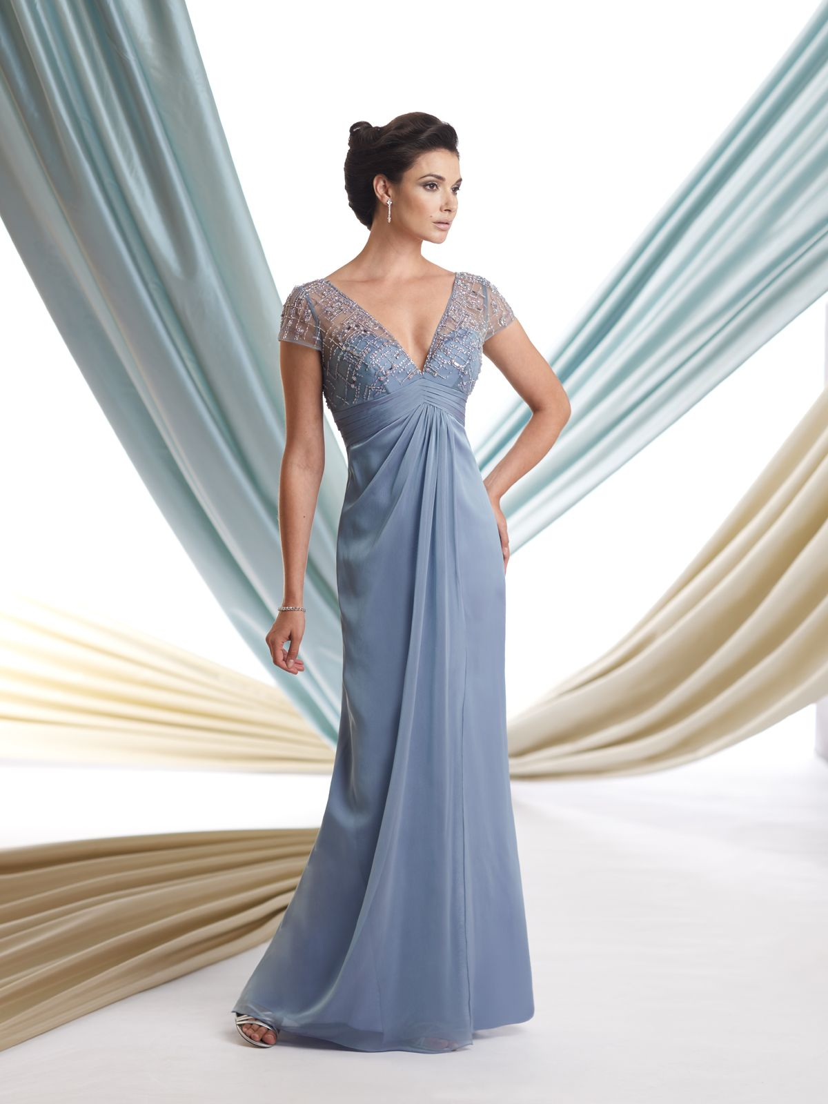 Style No 113907 Montage By Mon Cheri Mother Of The Bride Gown Long Mothers Dress Mothers Dresses