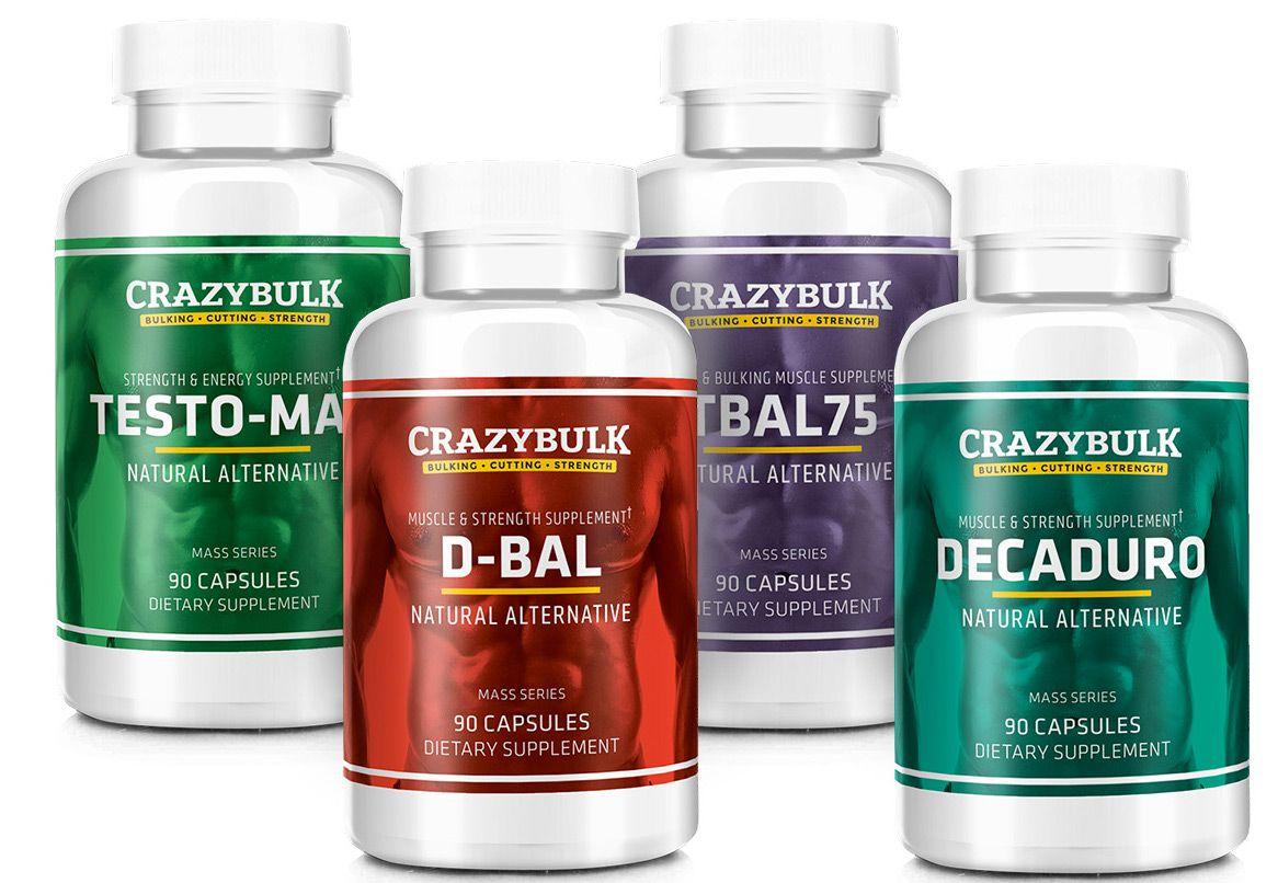 Image result for crazy bulk bulking stack