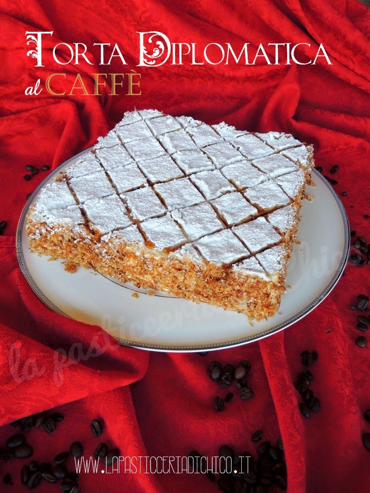 Torta diplomatica al caffè - www.lapasticceriadichico.it