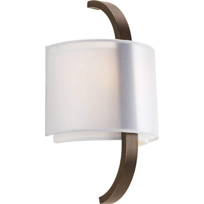 """View the Progress Lighting P7065 Cuddle 1 Light 14"""" Tall ADA Compliant Wall Sconce with Dual Shades at LightingDirect.com."""