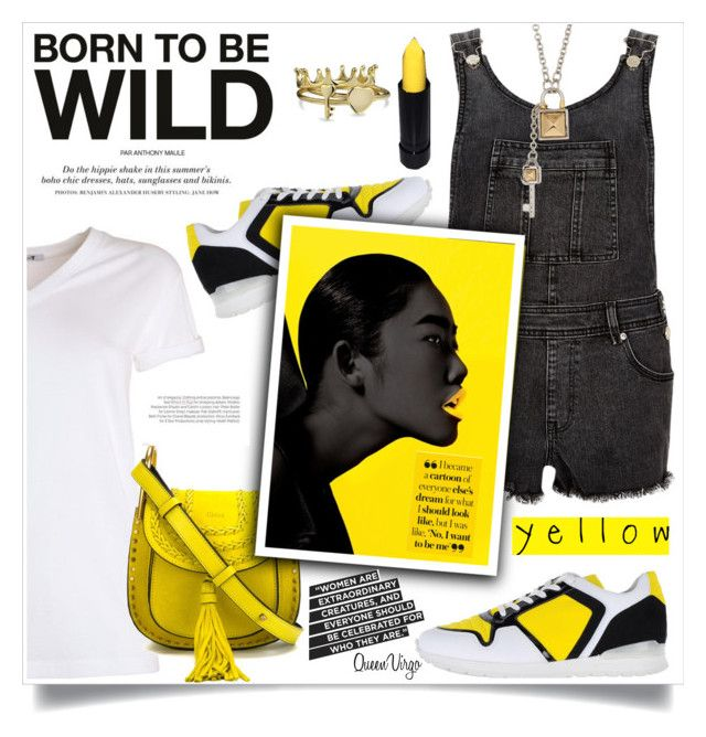"""Born To Be Wild"" by queenvirgo on Polyvore featuring Bikkembergs, River Island, T By Alexander Wang, Chloé, Balenciaga, Rebecca Minkoff, H&M and Bling Jewelry"