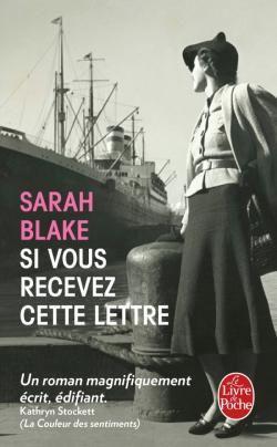 cette lettre Si vous recevez cette lettre   Sarah Blake   Collection  cette lettre