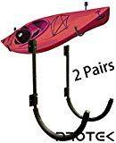 Protek 2 Pair Of Indoor Outdoor 150 Lbs Kayak Canoe Sup