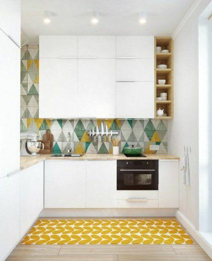 Comment aménager une petite cuisine? Idées en photos! Pinterest