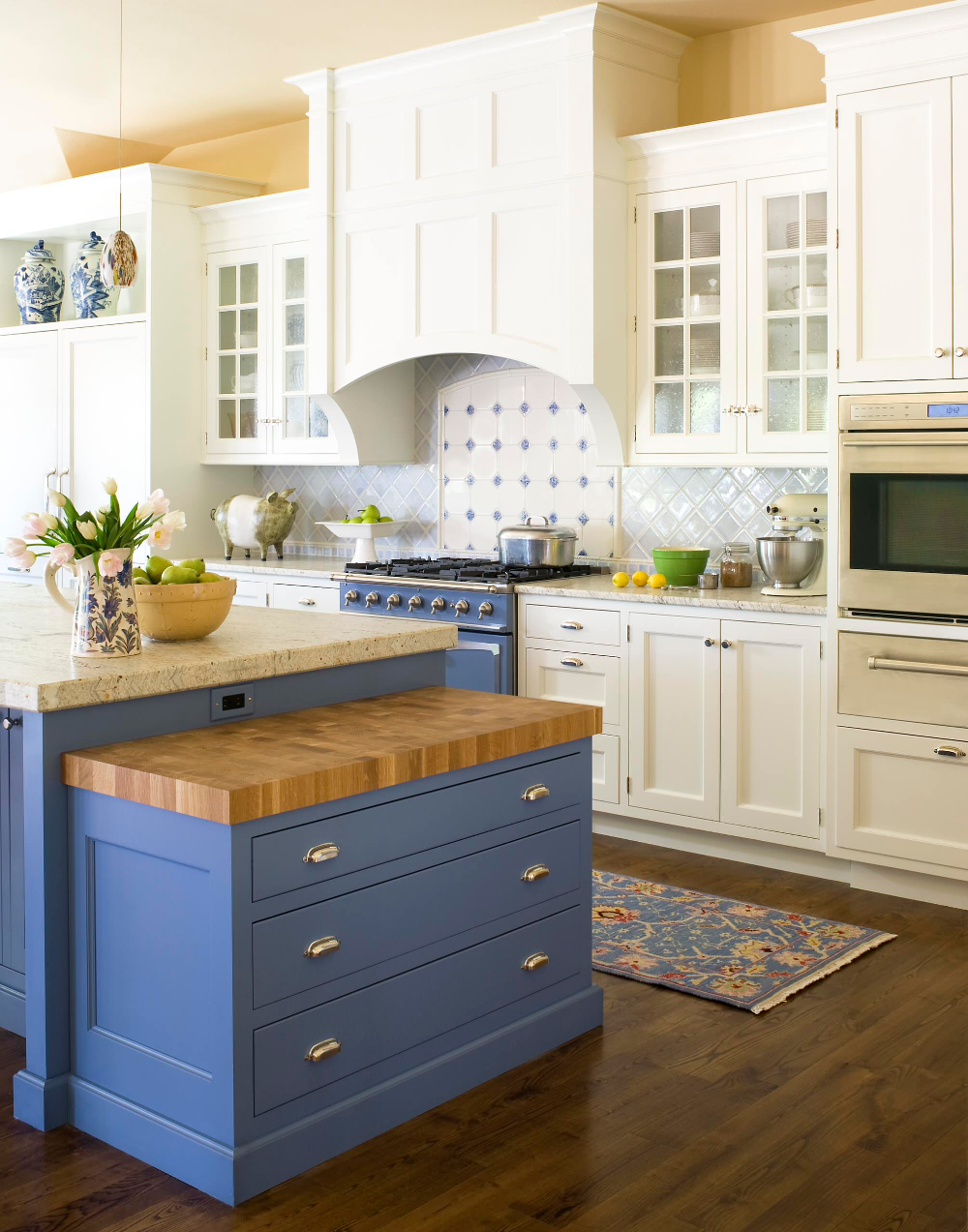 Misty Blue Traditional Kitchen Denver By Exquisite Kitchen Design In 2020 Blue Kitchen Cabinets Country Kitchen Blue Kitchen Paint