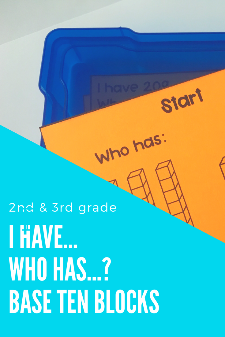 I Have, Who Has... Base Ten Place Value | Students, Math and ...