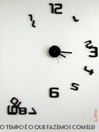 O nosso relógio de parede :-) #clock #time #relaxtime #mytime