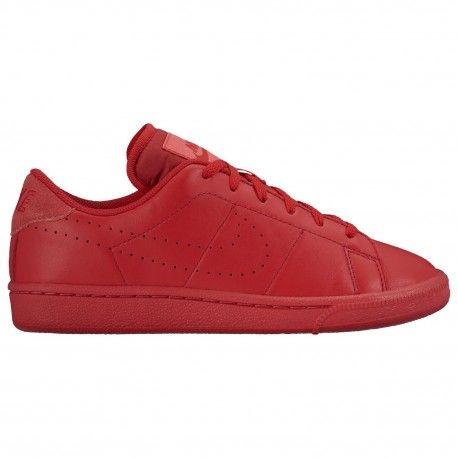 nike tennis shoes for boys,Nike Tennis Classic - Boys' Grade School -  Casual - Shoes - University Red/Ember Glow/White/Universi
