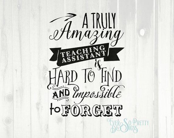 Image result for teaching assistant quotes