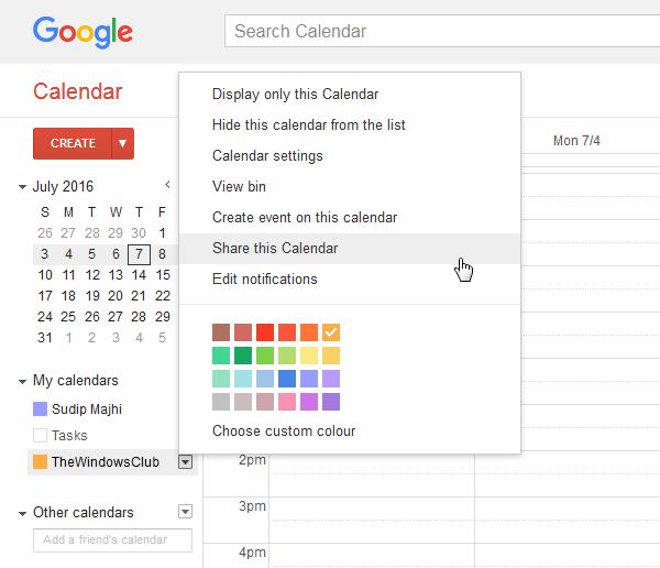 How To Share Google Calendar With Anyone Google Calendar Google Drive Evernote