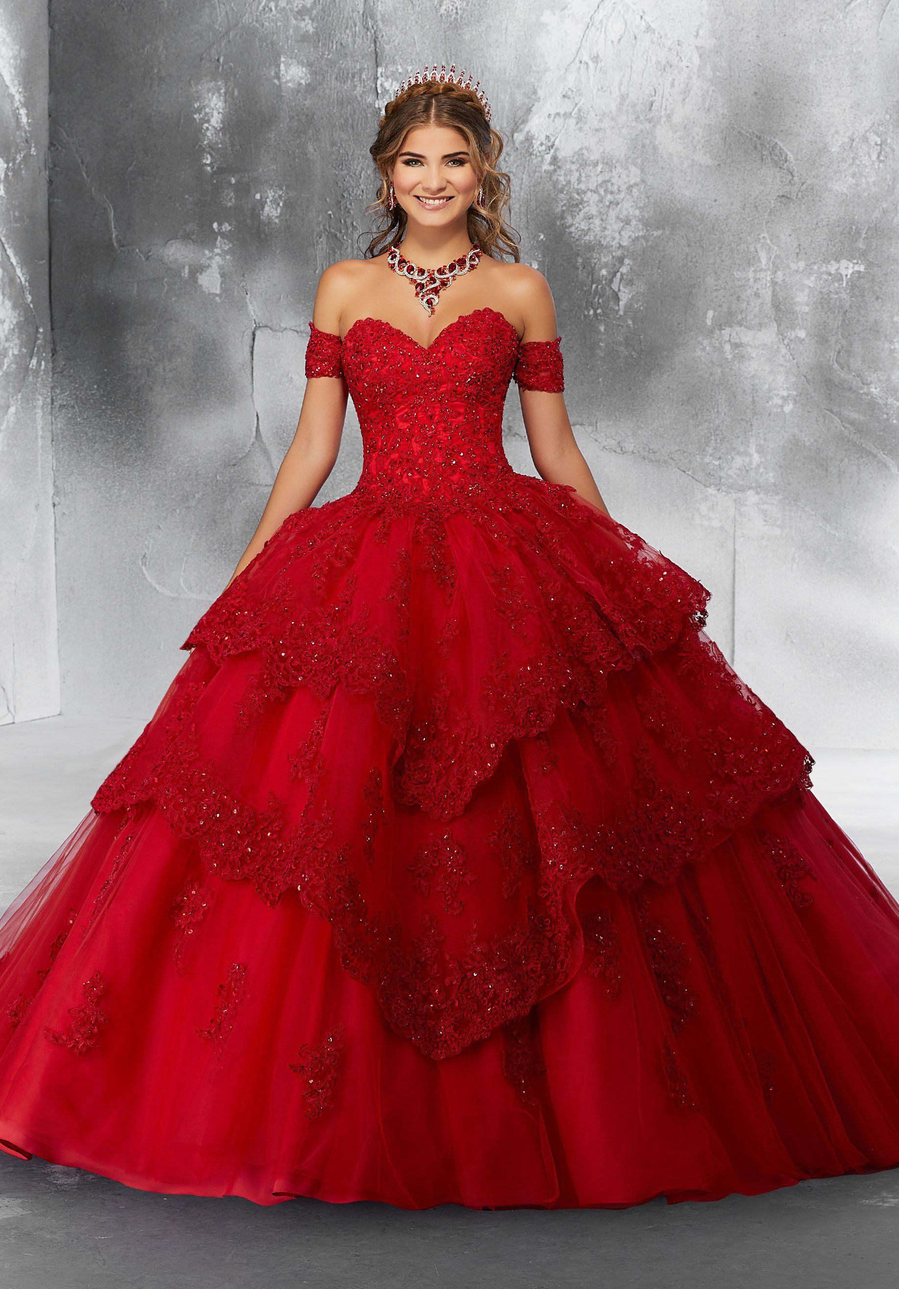 Vizcaya By Mori Lee 89190 Beaded Appliqued Scallop Tiered Ballgown In 2021 Pretty Quinceanera Dresses Ball Dresses Mori Lee Quinceanera Dresses [ 2630 x 1834 Pixel ]