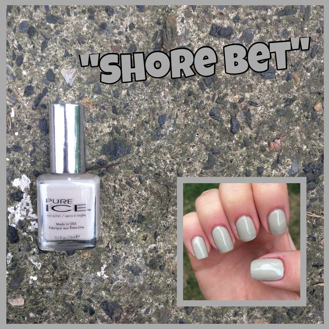 39. Pure Ice: Shore Bet | Nail Polish Collection | Pinterest | Nail ...