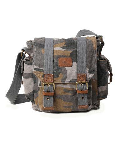 Another great find on #zulily! Gray Renegade Hillside Messenger Bag #zulilyfinds