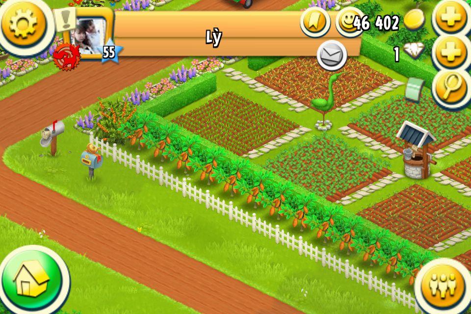 Hedged crops Nông trại