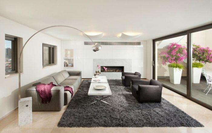 Genial moderne teppiche für wohnzimmer Deutsche Deko Pinterest