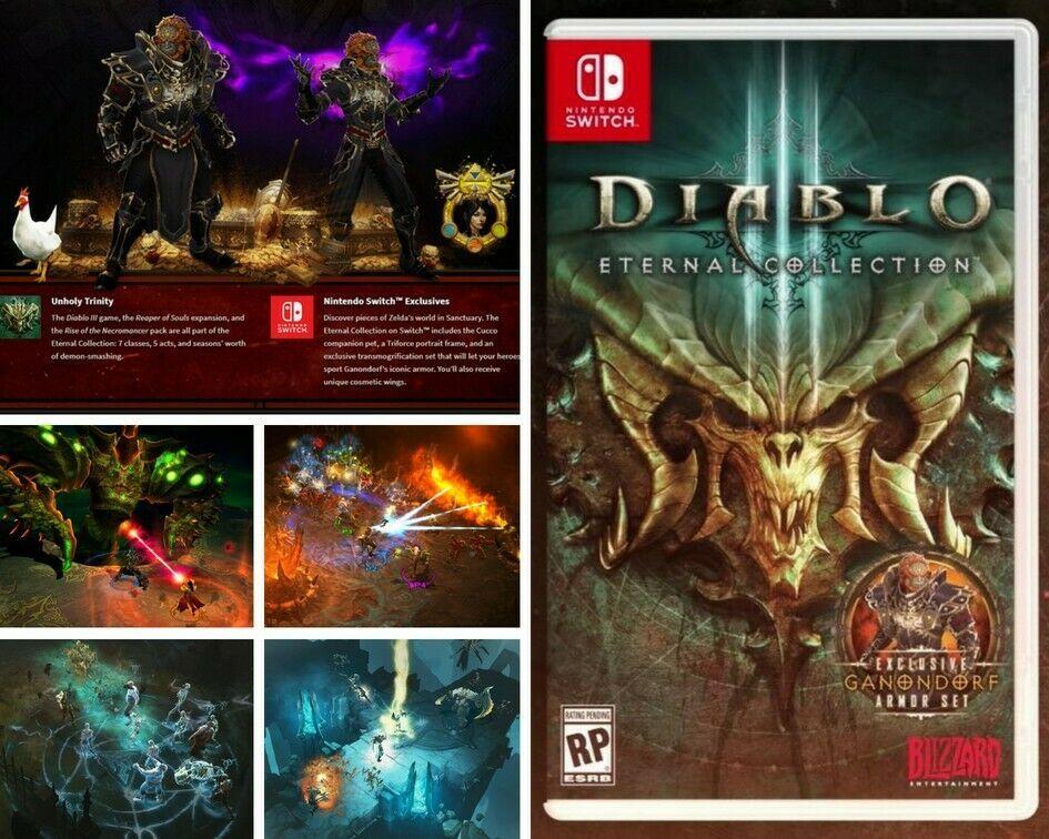 Diablo 3 Eternal Collection Nintendo Switch (Digital