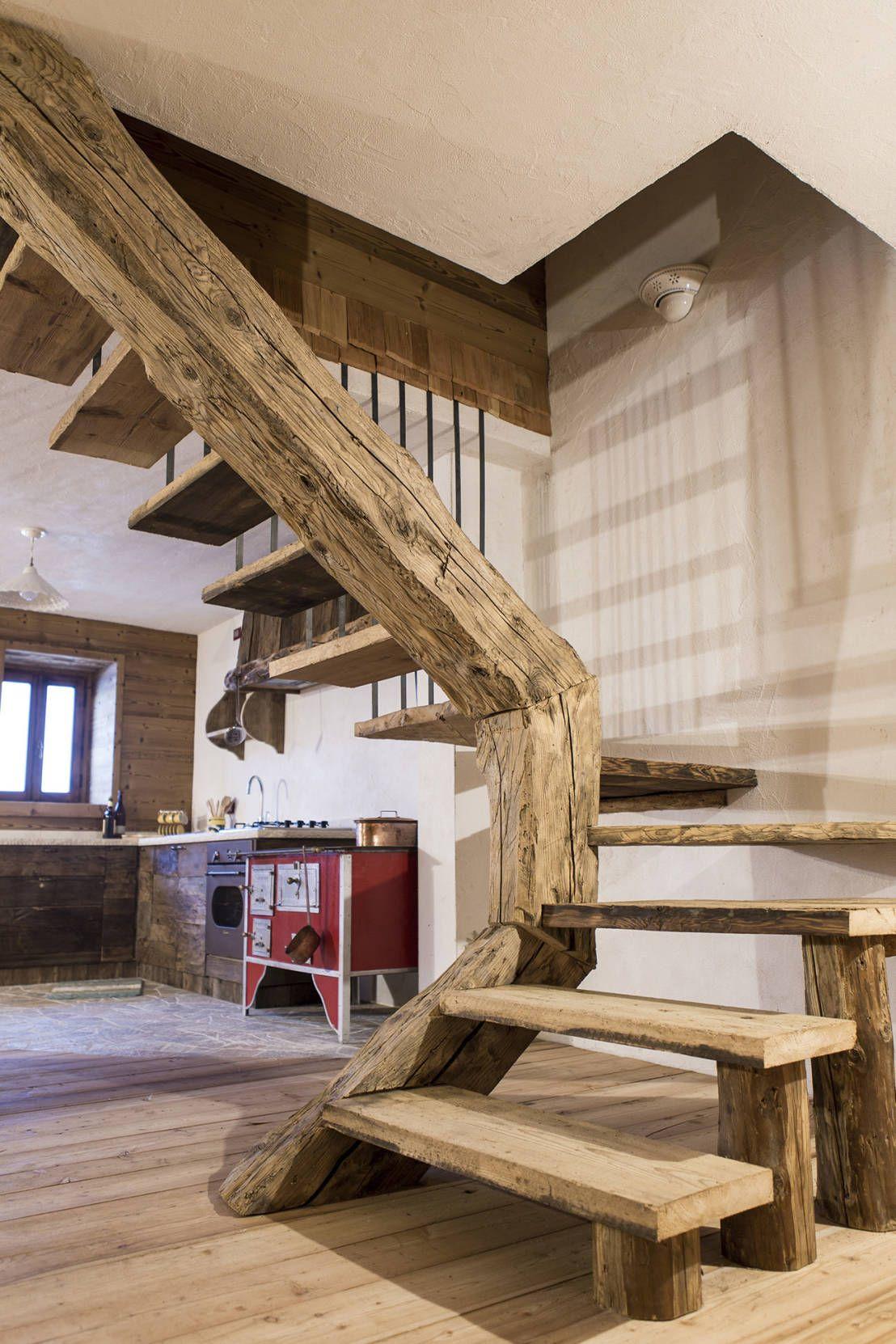Scala Di Legno Decorativa costruite una casa in legno: vantaggi e svantaggi (con