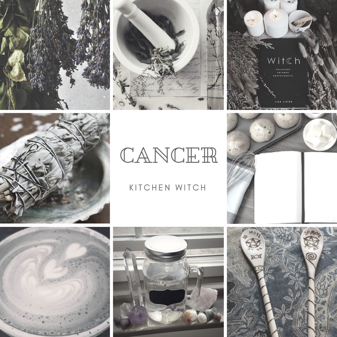 12 Witchy Zodiac Mood Boards #moodboards