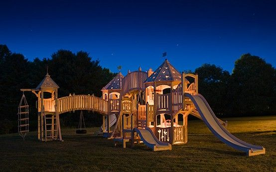 kids playground how cool does this look