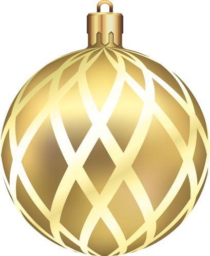 CHRISTMAS GOLD ORNAMENT CLIP ART | CLIP ART - CHRISTMAS 1 ...