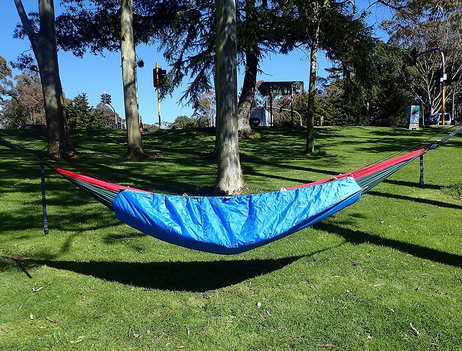 hammock free field grass daylight nature light blanket photo pixel max