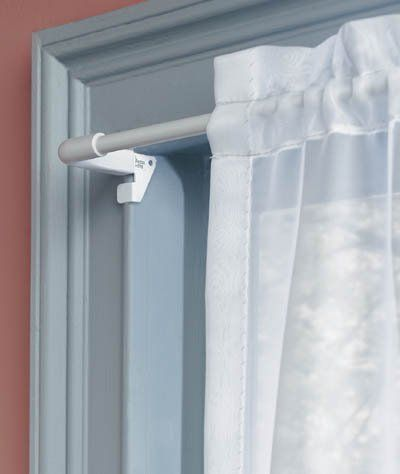 Levolor Kirsch 18in To 28in Levolor Twist Fit Tool Less Curtain Rod Wf70042150 Pack Of 6 By Levolor 31 68 Curtains White Curtain Rod Single Curtain Rods