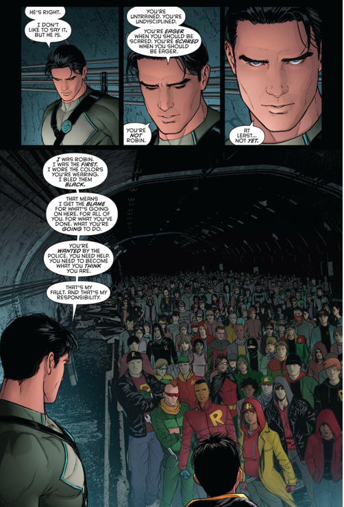 DICK GRAYSON AGREES TO TRAIN THE I AM ROBIN GROUP #1 << Dick