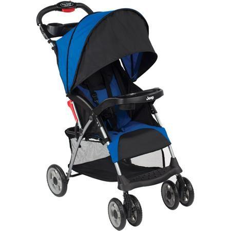 Jeep Cherokee Sport Stroller Cobalt Blue Walmart Com Umbrella Stroller Lightweight Stroller Umbrella Stroller