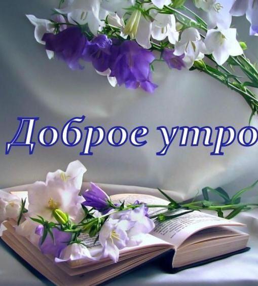 Открытка Доброе Утро. - анимационные картинки #открытка # ...